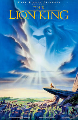 """The Lion King (11"""" x 17"""") Movie Collector's Poster Print (T3)- B2G1F"""