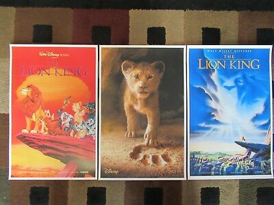 """The Lion King  ( 11"""" X 17"""" ) Movie Collector's Poster Prints (Set of 3)"""