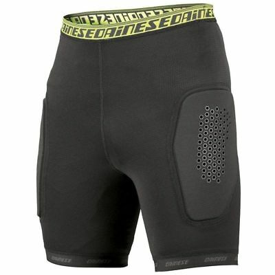 Dainese Norsorex Mens Armoured Motorcycle Motorbike Pants Shorts Black
