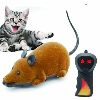 Wireless Mouse Cat Rat Toy Remote Control Gift Electronic RC Puppy Mice Pet Fun