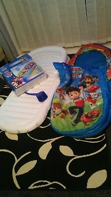 ReadyBed Paw Patrol Airbed and Sleeping Bag
