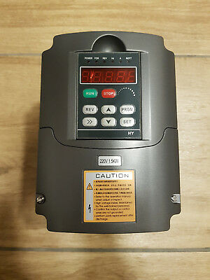 HY01D523B Variable Frequency Drive Inverter Converter VFD 220V 1.5KW 7A 0-400Hz