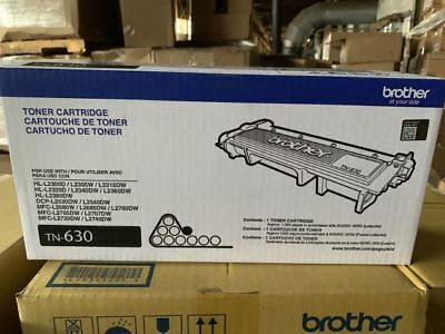 Brother Tn-630 Toner Cartridge Brand New And Sealed