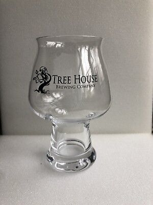 TREE HOUSE BREWING CO BLACK LUIGI BEER GLASS monkish trillium answer bissell - -