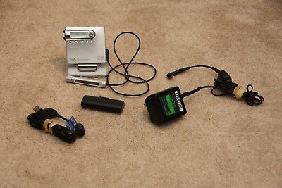 Sony MZ-N10 Personal MiniDisc MD Player Walkman Recorder Data Cable Charging