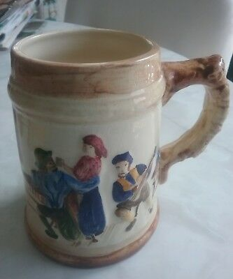 Rare Essexware mug signed by Irene Dunstan 1950