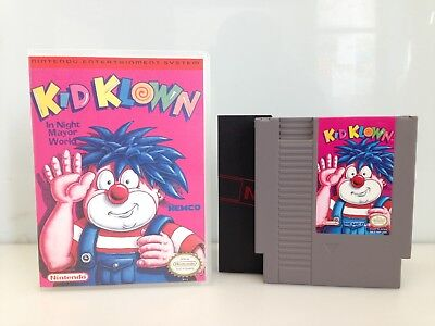 kid clown nes