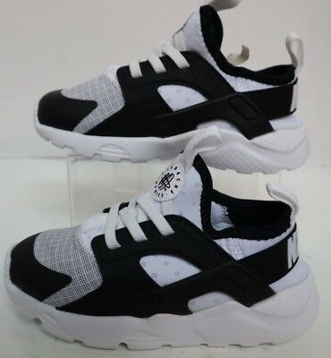 975263fe0cba NIKE HUARACHE RUN Ultra (TD) White Black 859594-101 Infant Size s ...