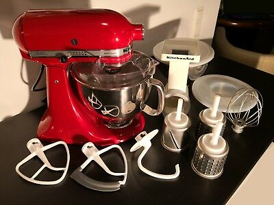 KITCHENAID ARTISAN KÜCHENMASCHINE Empire Red Rot 5KSM150PSEER ...