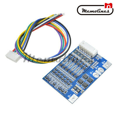 6S 22.2V Li-ion 18650 Lithium Battery BMS Charger Protection Board with Balance