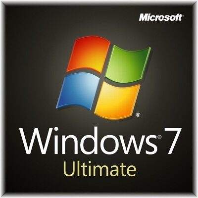Windows 7 Ultimate ISO 32/64bit English Service pack 1NO LICENSE KEY