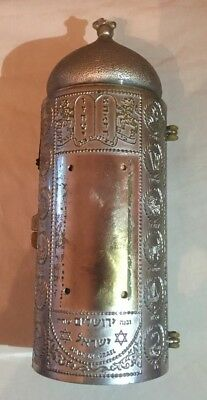old-case for JUDAICA-ROLL-OF-ESTHER-IN-ITS CASE