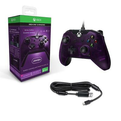 PDP Wired Xbox One S X & Windows Controller |Purple NEW & SEALED