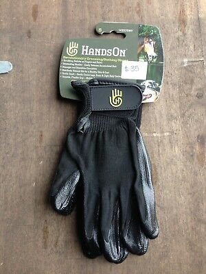 Hands On. Horse Or dog Grooming Gloves