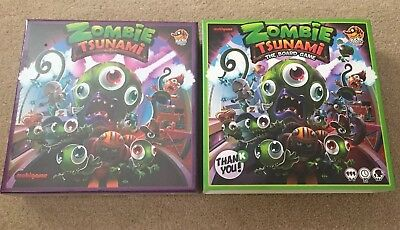 ZOMBIE TSUNAMI ULTIMATE Set Game With Kickstarter Exclusive (New And Sealed)