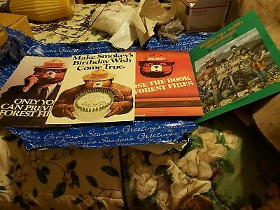 Used 1984 era  SMOKEY BEAR posters.1 or all 4.  Card board.