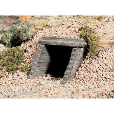 N Scale Timber Culverts Qty 2 #C1165 Woodlands