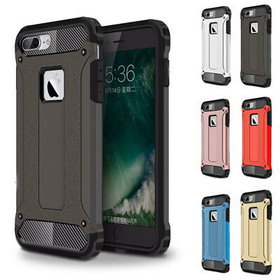 Heavy Duty Hybrid Shockproof TPU+PC Stand Rugged Case Cover For iPhone 5/5S/SE