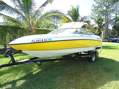 2001 BRYANT 196RB w/ Volvo Penta V6 4.3L Great Condition