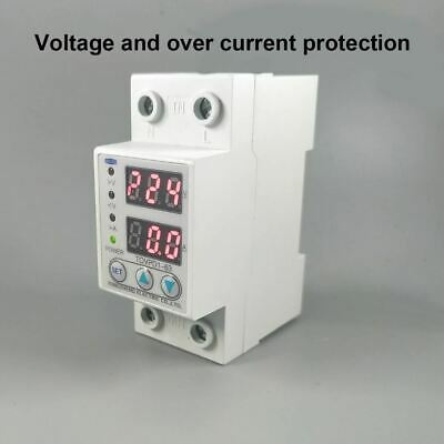 Din Rail Adjustable Over/Under Voltage Protective Device Protector