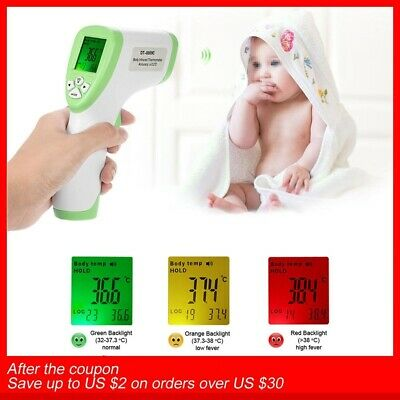 Infrared Thermometer Forehead Body Surface Temperature Meter