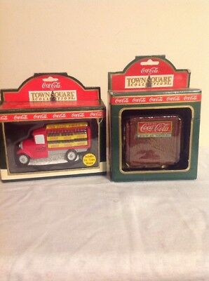 Coca Cola Town Square NEWSSTAND And DELIVERY TRUCK