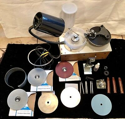 RAYTECH-SHAW FACETING MACHINE w/ Extras - Perfect Condition!