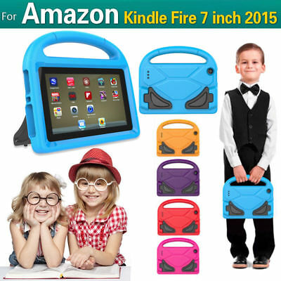 Kids Shock Proof EVA Foam Handle Case Cover for Amazon Kindle Fire7 2017 from US