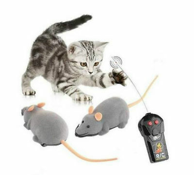 Wireless Remote Control Mouse Plastic Electronic Rat Funny Motion Mice ToyÇD