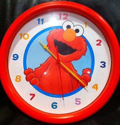 New Elmo Wall Clock