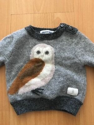 Country Road Baby Girl Boys Unisex Owl Jumper 00