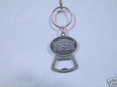 Sierra Nevada Brewing Co. Bottle Opener Keychain Chico California  - New