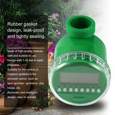 Home Water Timer Garden Irrigation Timer Controller Set Water Programs BY