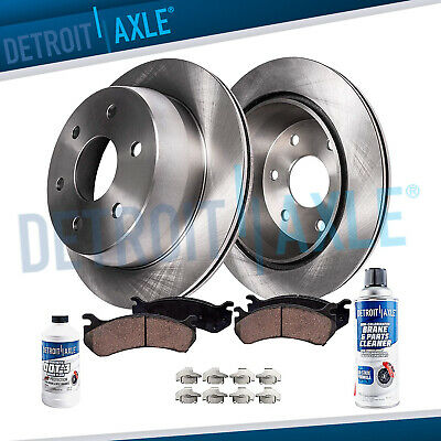 FRONT & REAR DRILLED Brake Rotors + Ceramic Pads 1999 2000 Silverado