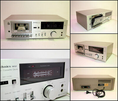 TECHNICS RS-M12 Stereo Cassette Deck (Made in Japan)