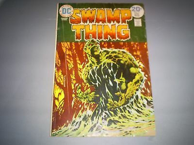 """Swamp Thing # 9 (Apr 1974 Dc) 2.0 Gd """"the Stalker From Beyond!"""""""