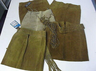 JOBLOT of Faulty Real Suede Leather Skirts from River Island x 5 Broken Zips