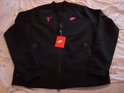 "NWT Nike Federer Premier ""RF"" Court Tennis Jacket 644780-010 NEW Nadal Large"