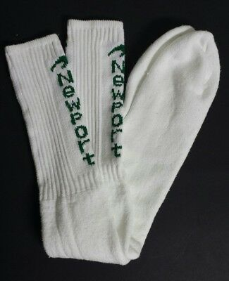 Vintage Newport Cigarettes Promo Hip Hop Tube Socks 80s Made In Usa - Free Ship