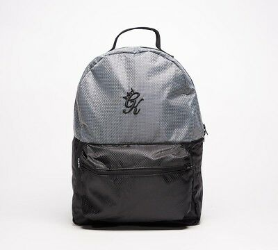 61432a7885ad Mens Gym King Grade Steel Grey Black School College Backpack RRP. £34.99
