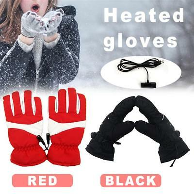Waterproof Rechargeable Electric Battery Heated Gloves For Men Women Skiing Wint