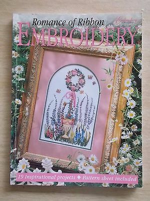 Romance of Ribbon Embroidery~19 Projects~Flowers~Half Doll~Calendar~Gardens~Lady