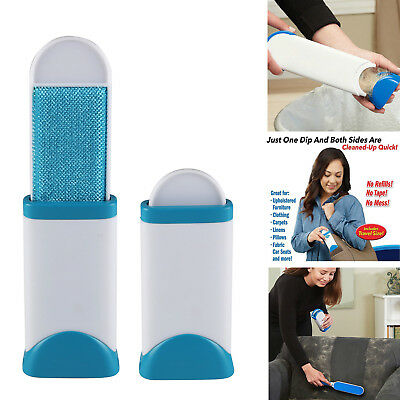 Remove Pet Hair Grooming dog fur Remover Fabric Brush Cleaner Self-cleaning Fur