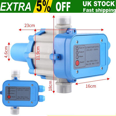 50/60Hz Automatic Pressure Control Switch Electronic Water Pump Controller 1.1kW