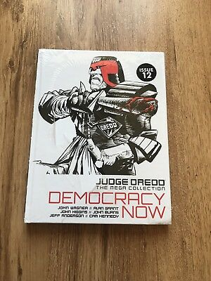 Judge Dredd, The Mega Collection, Democracy Now, Issue 12, Vol 02, New & Sealed.