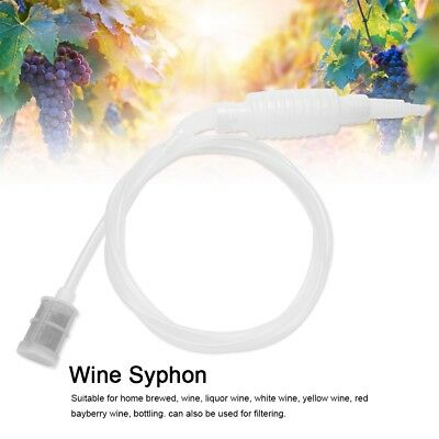 1.8M Home Brew Syphon Filter Tube Hose Beer Wine Brewing Making Hand Knead Tools