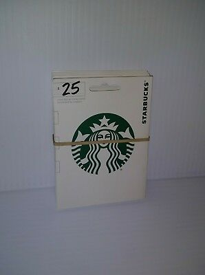 10 NEW EMPTY STARBUCKS GIFT CARDS LOT FAST CARD Unactivated Mint Shape