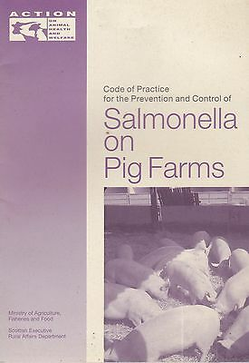 Salmonella in Pig Farms (MAFF - Action on Animal Health and Welfare)