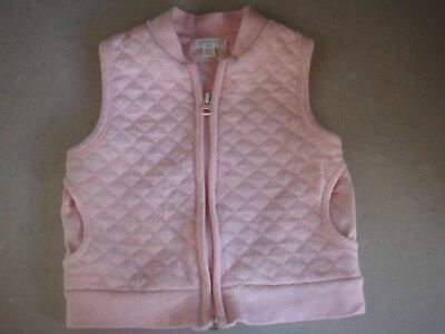 Pure Baby Girls Vest Size 00