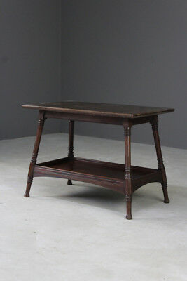 Antique Edwardian Mahogany End Occasional Lamp Side Table
